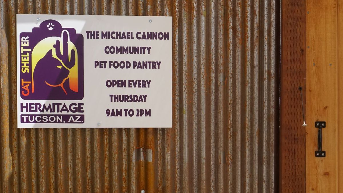 The Michael Cannon Memorial Pet Food Pantry celebrates 12 years helping the community