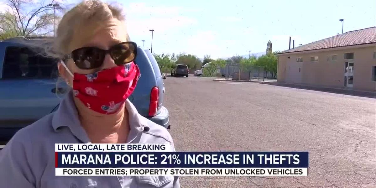 Marana PD sees small spike in car thefts