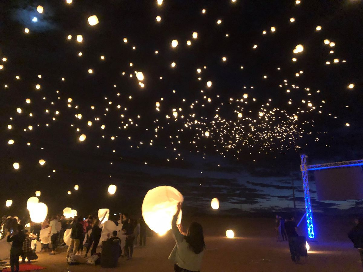 Lantern festival at Pinal County fairgounds goes off without a hitch