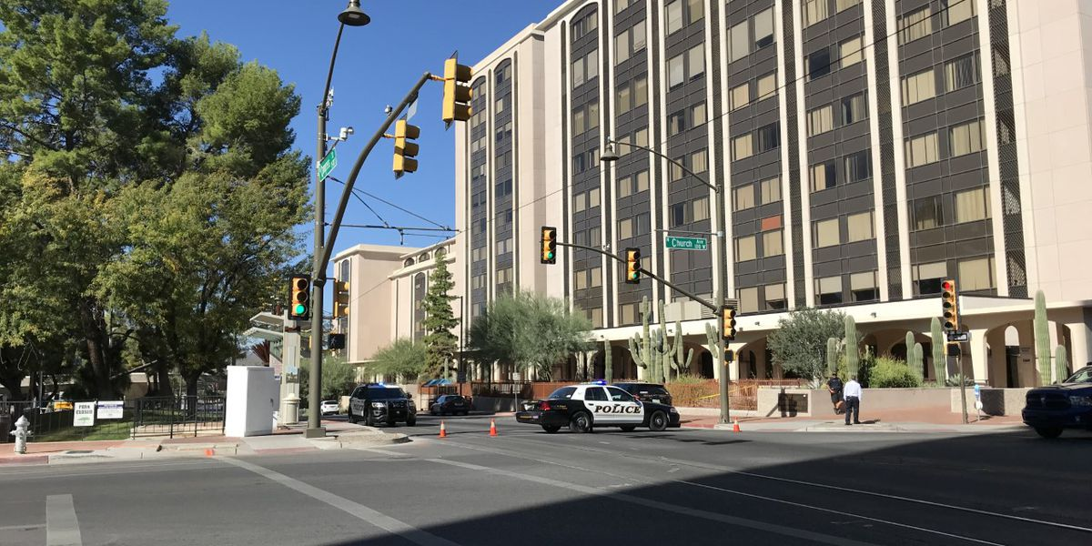 UPDATE: Officials declare all clear after bomb scare prompts evacuation in downtown Tucson