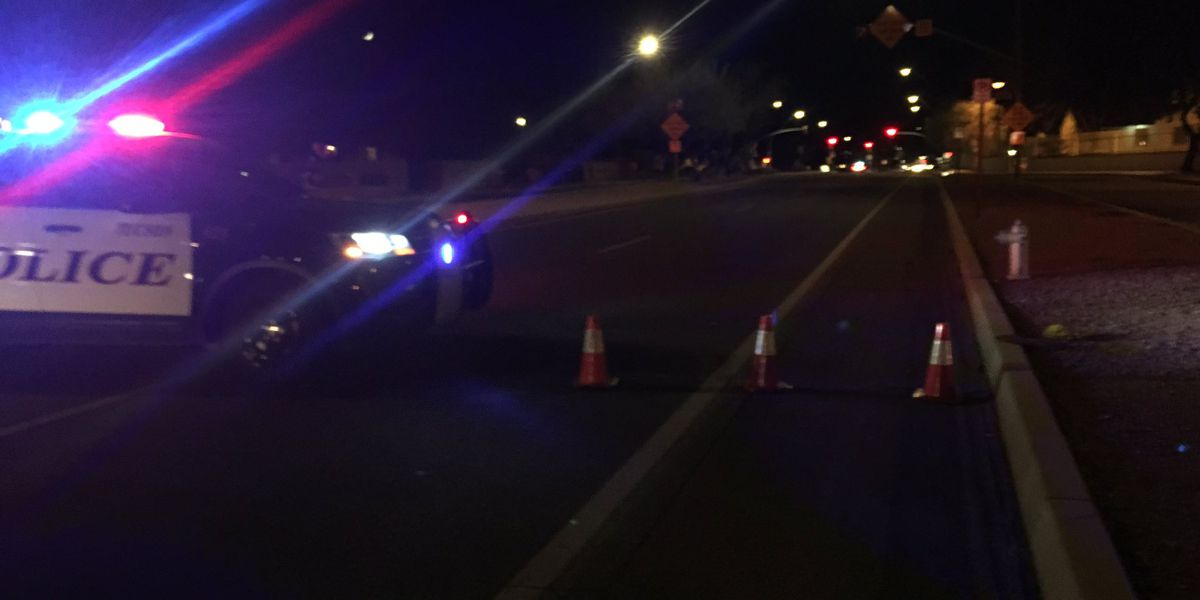 UPDATE: Pedestrian killed in hit-and-run crash in downtown Tucson