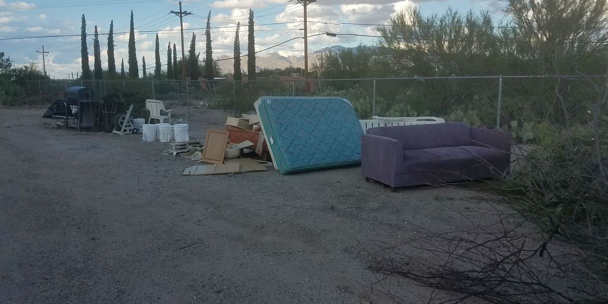 Tucson man speaks out about illegal dumping in neighborhood