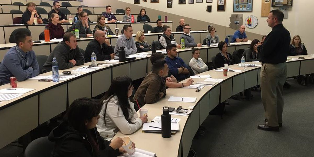 Multiple agencies in Tucson for Crisis Intervention Training