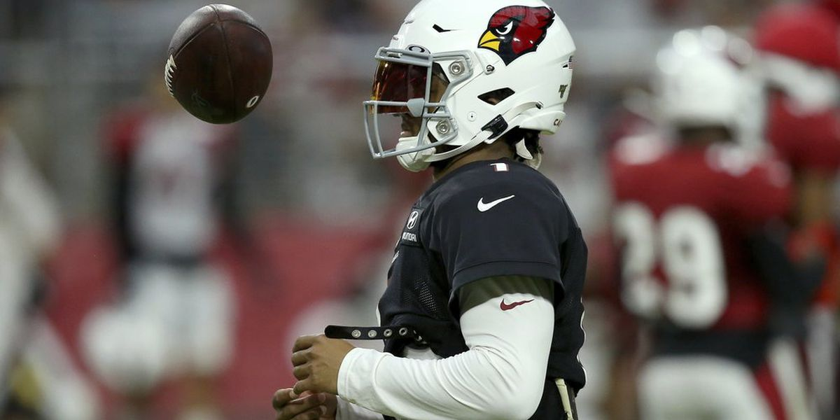 Cards' Kyler Murray getting ready for 1st preseason game