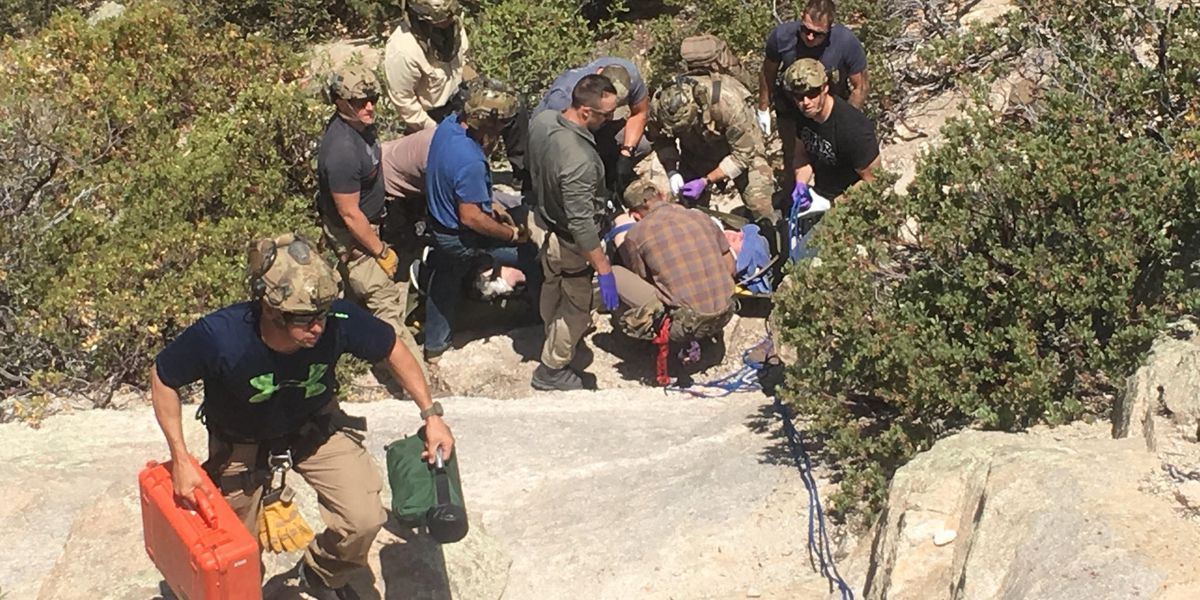 CBP rescues man after steep fall off Mt. Lemmon cliff