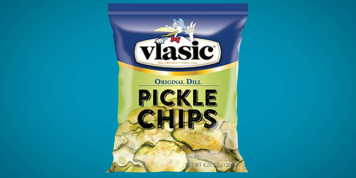 Vlasic rolls out chips made of real pickles
