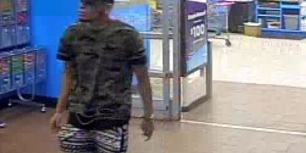 PCSD searching for suspect in credit card theft