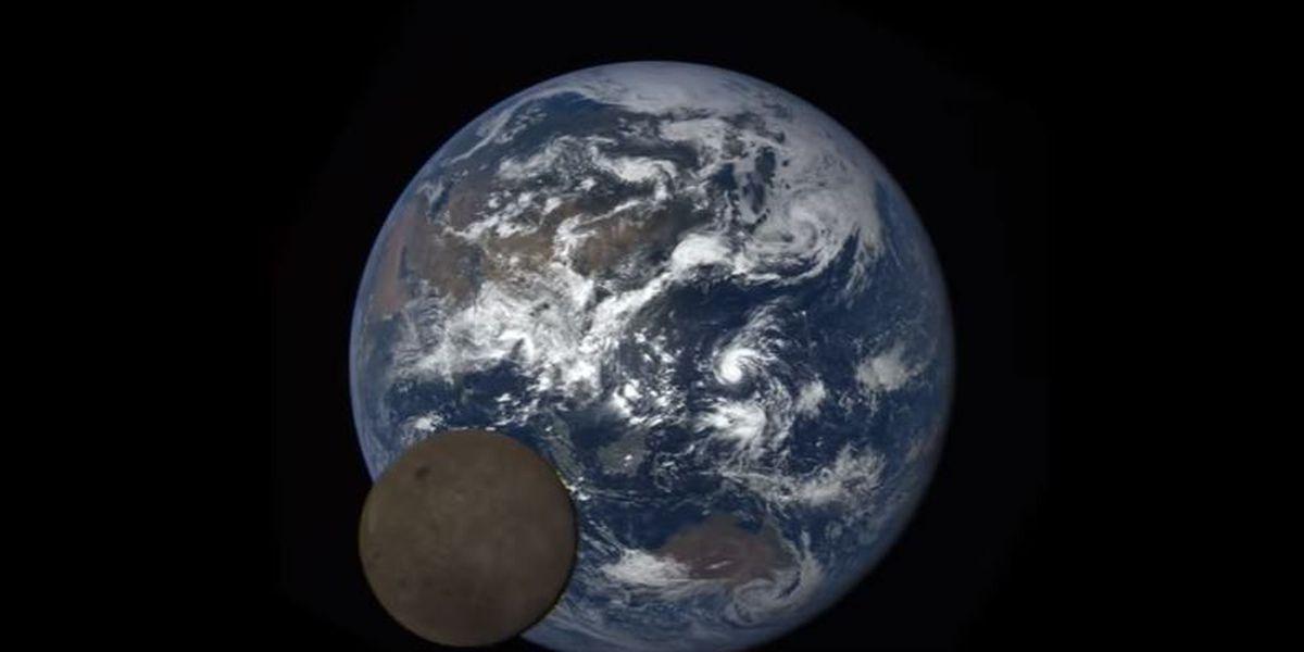 Lunar Photobomb