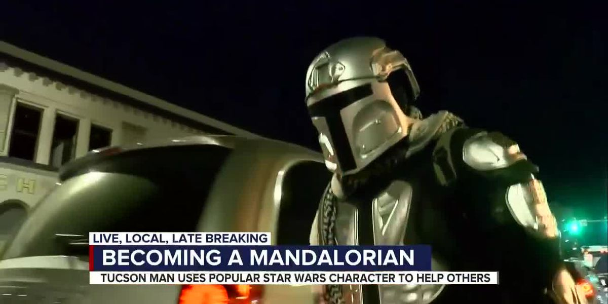 Local man is Tucson's very own Mandalorian
