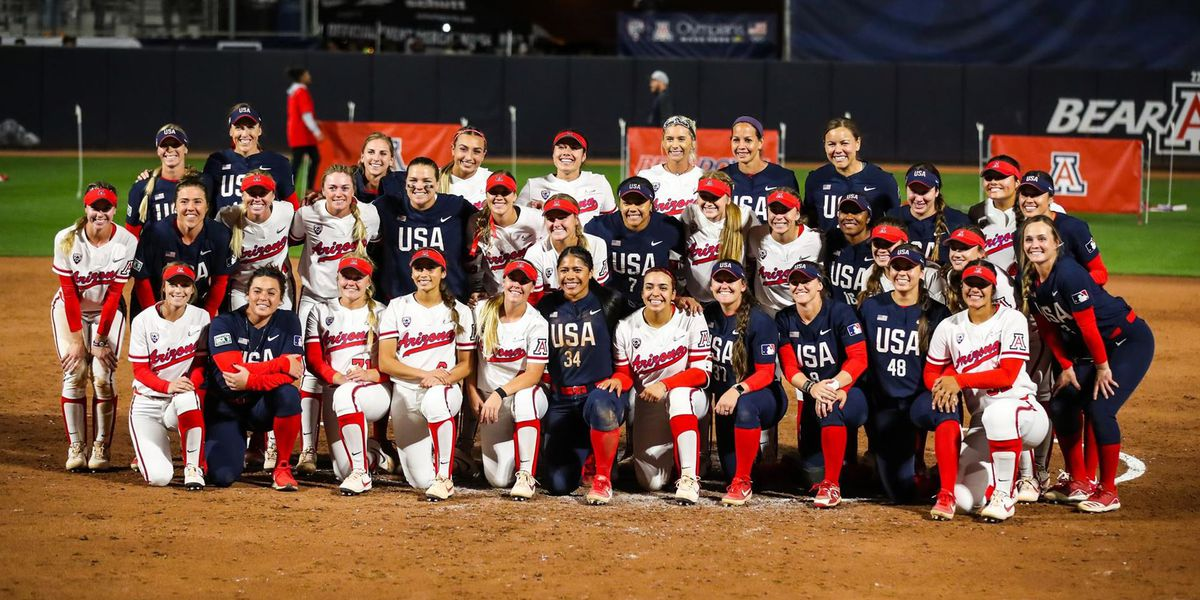 Team USA edges Arizona despite two home runs from Harper