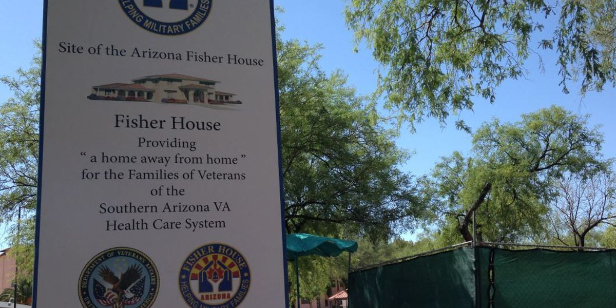 Construction begins for first AZ Fisher House