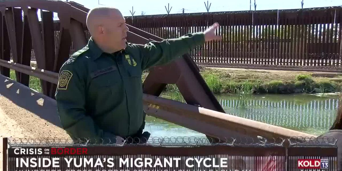 Crisis On The Border: Yuma area inundated with migrants crossing illegally, legally