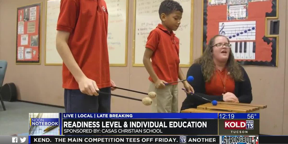 KOLD Noon Notebook: Readiness Level and Individual Education