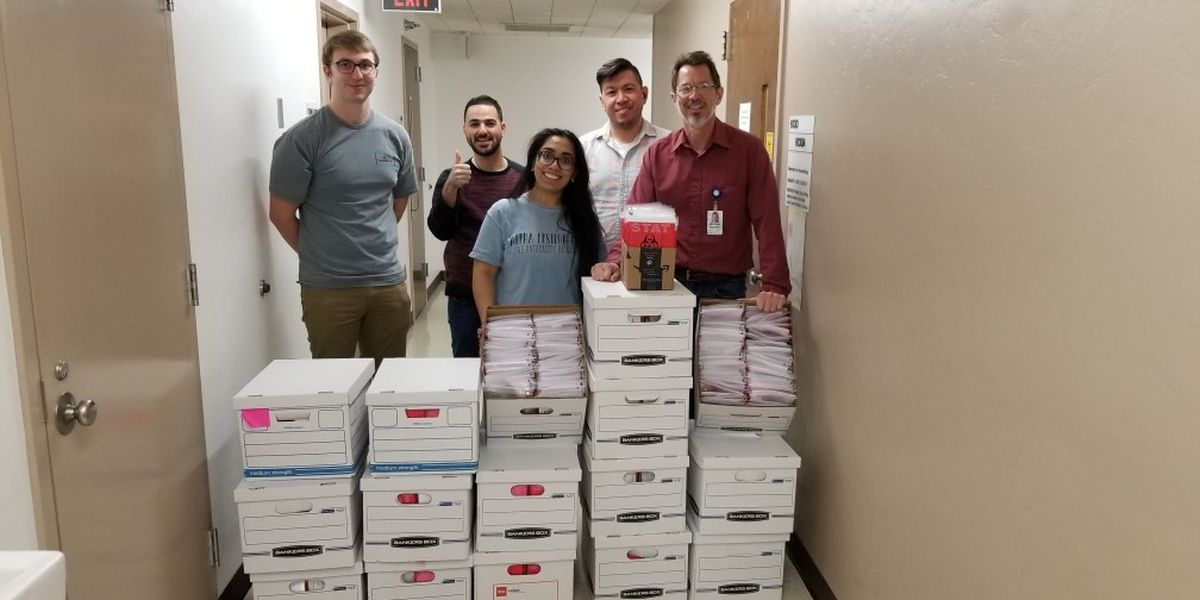 U of A team makes more than 1,500 COVID-19 test kits over weekend