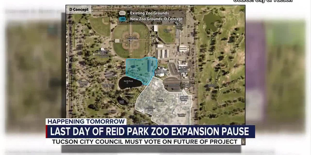 Reid Park Zoo expansion concepts to go before Tucson City Council