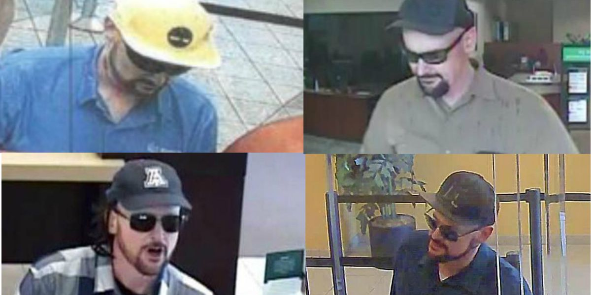 FBI seeks help identifying serial armed bank robber dubbed 'Red Beard Bandit'