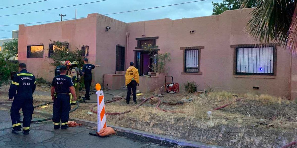 Fire delays opening of dog rescue in Tucson
