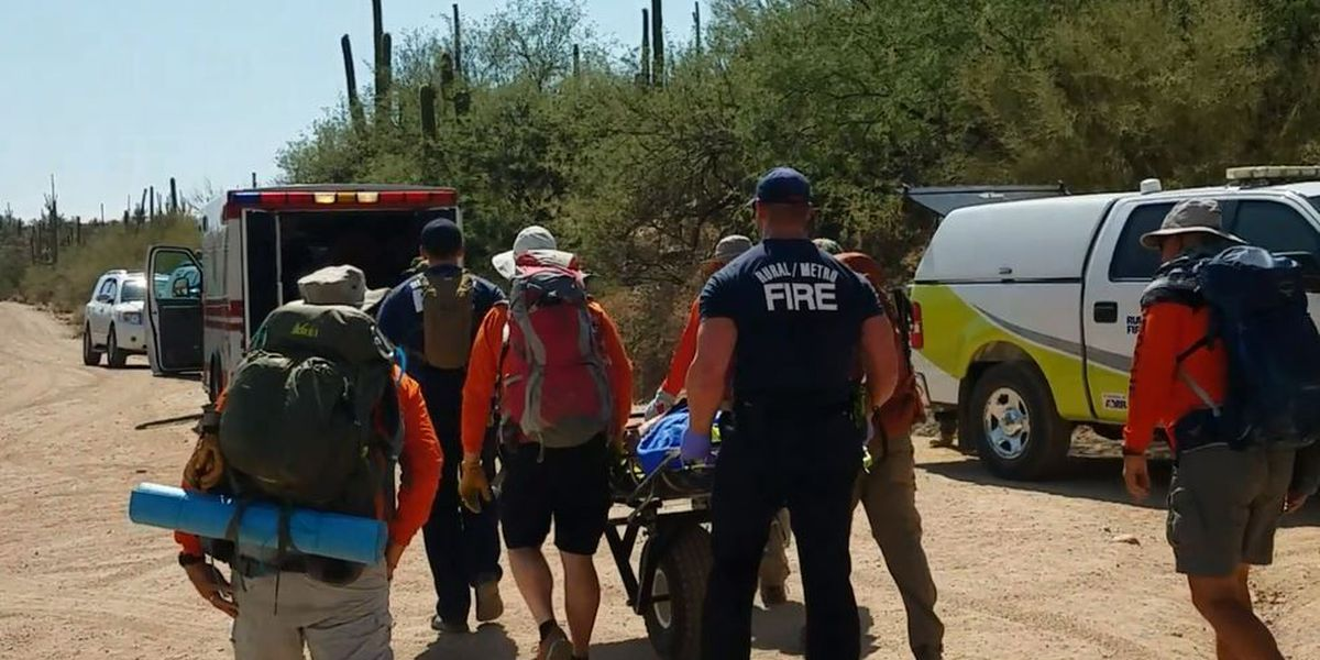 Several hikers rescued after overdoing it in the heat
