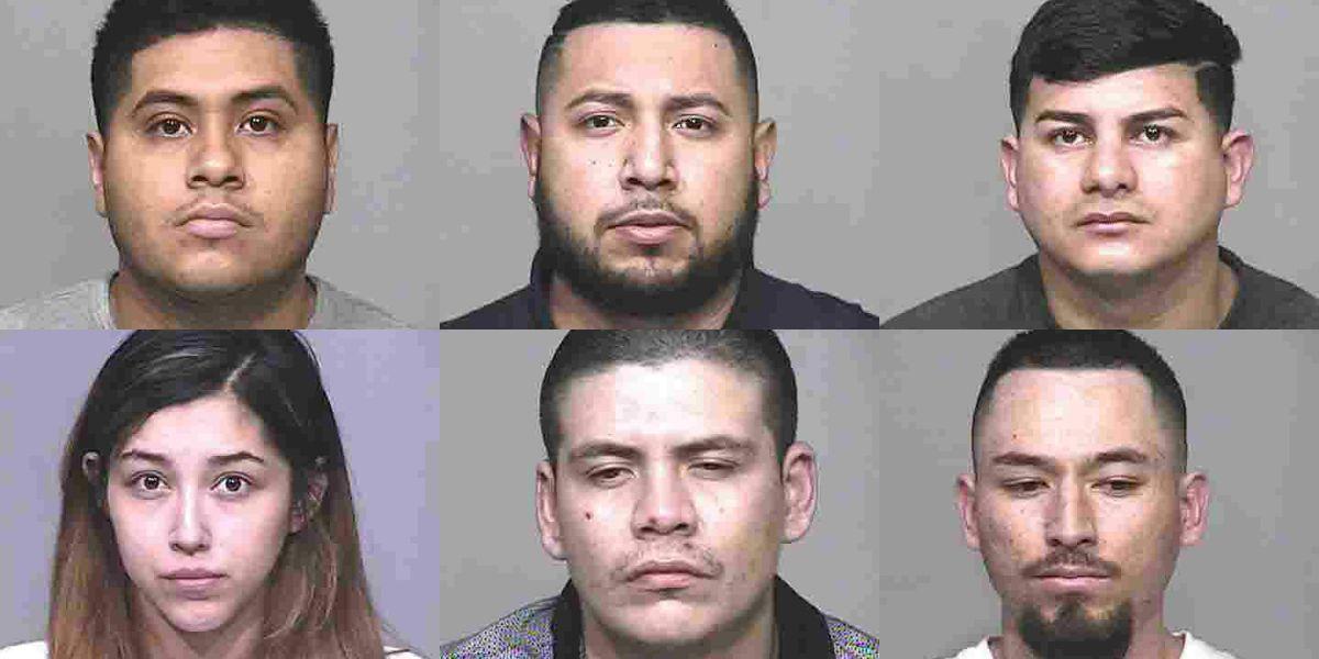 DEA arrests six on drug charges, including MS-13 gang member