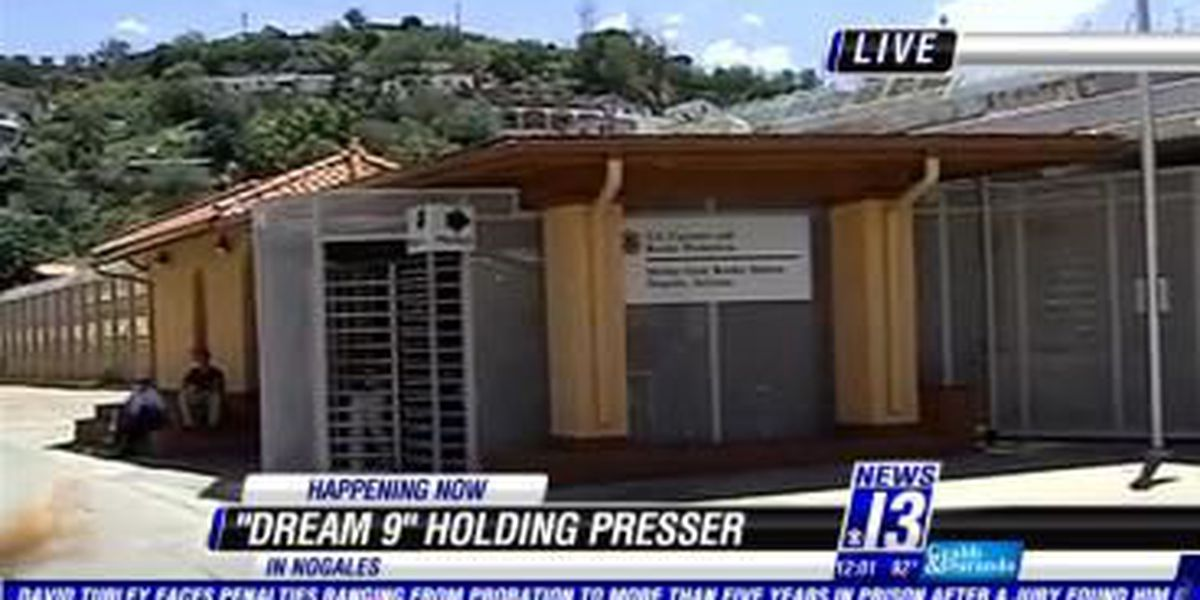 Dream 9 holding news conference in Nogales