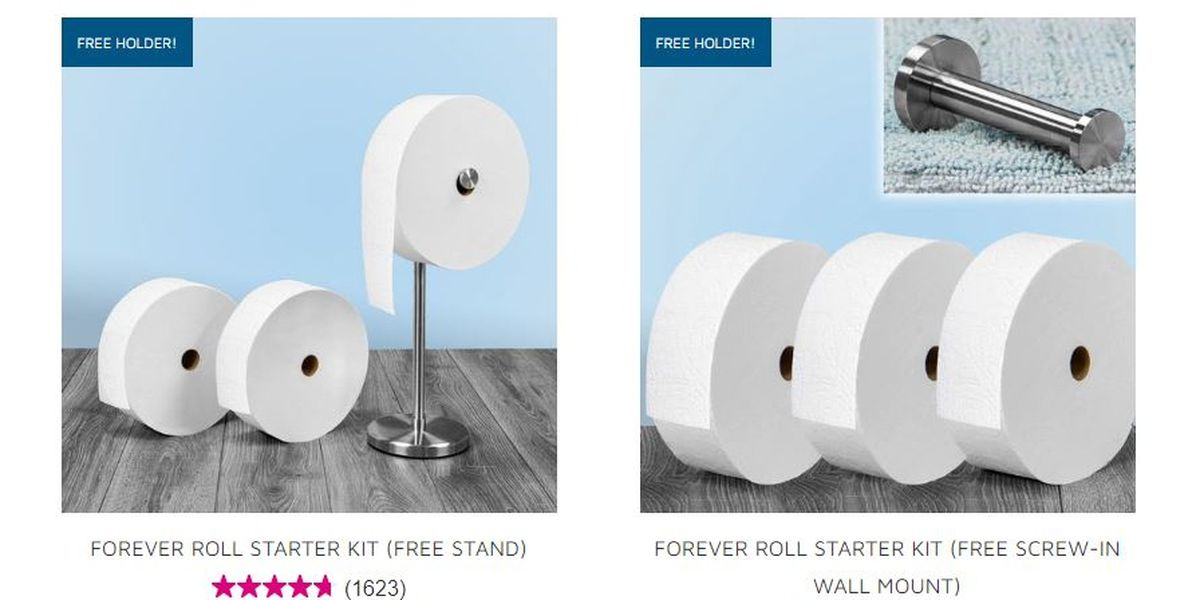 Charmin releases giant toilet paper roll with millennials in mind