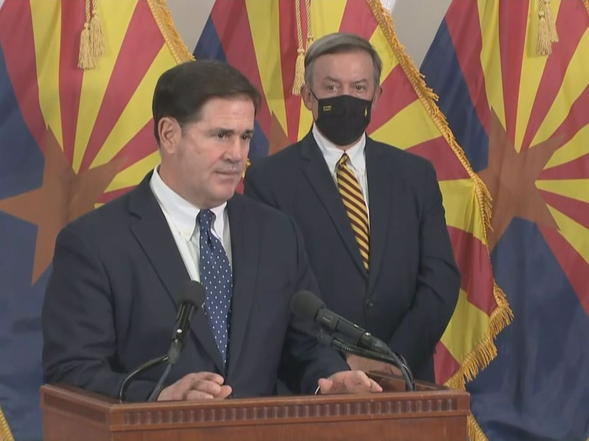 'Arizona is open' Ducey says he won't shutdown businesses again despite COVID 19 cases rising