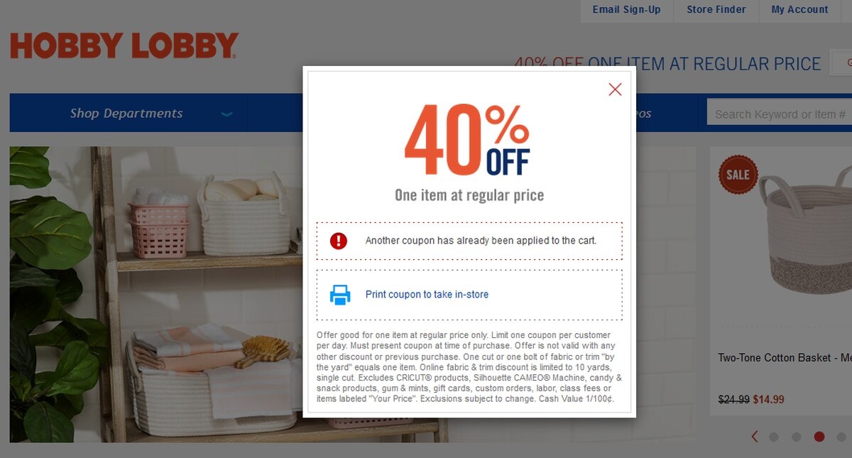 Hobby Lobby To End Its Popular 40 Off Coupon