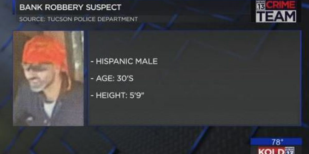 Tucson police searching for robbery suspect