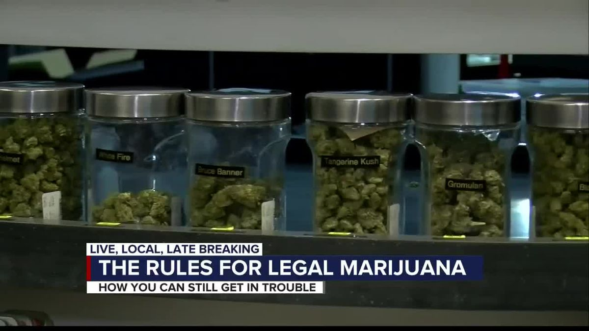 Recreational marijuana now legal in Arizona, but there are restrictions