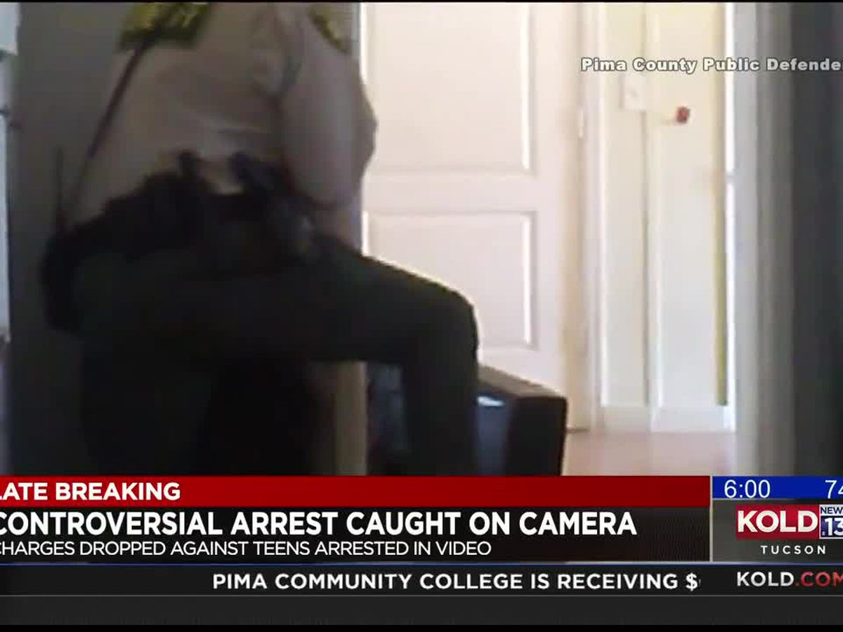 Charges dropped against teen in rough arrest