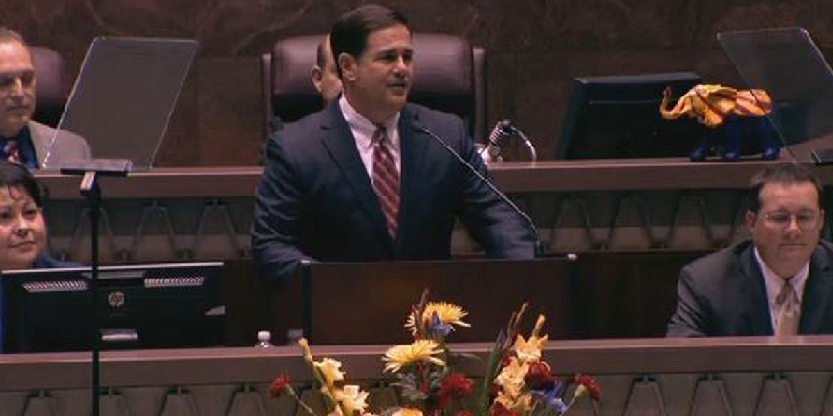 Full text of Gov. Ducey's State of the State address