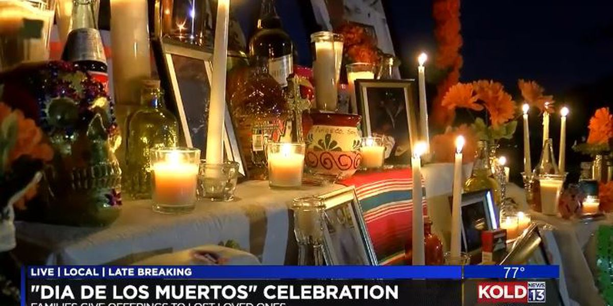 Thousands in Tucson cemetery honor the dead in unique fashion