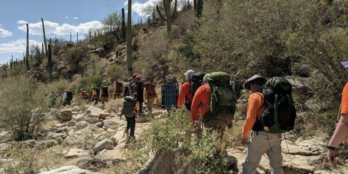 Crews prepare for hiking rescues as triple-digit heat simmers