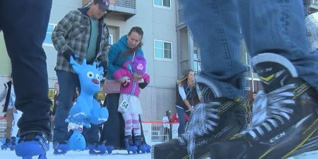 People pack ice rink on opening day in Tucson