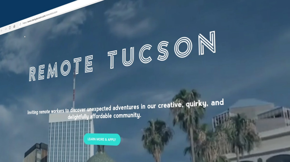 Remote Workers Given Incentives To Relocate In Tucson