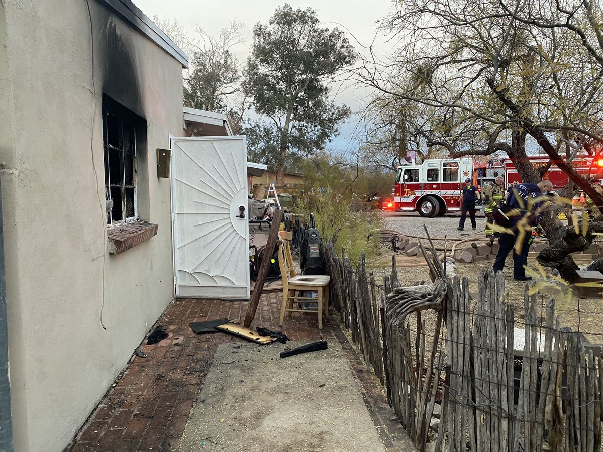 UPDATE: Two displaced after structure fire near Grant and Swan