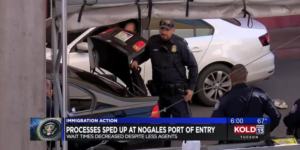 Processes sped up at Nogales Port of Entry