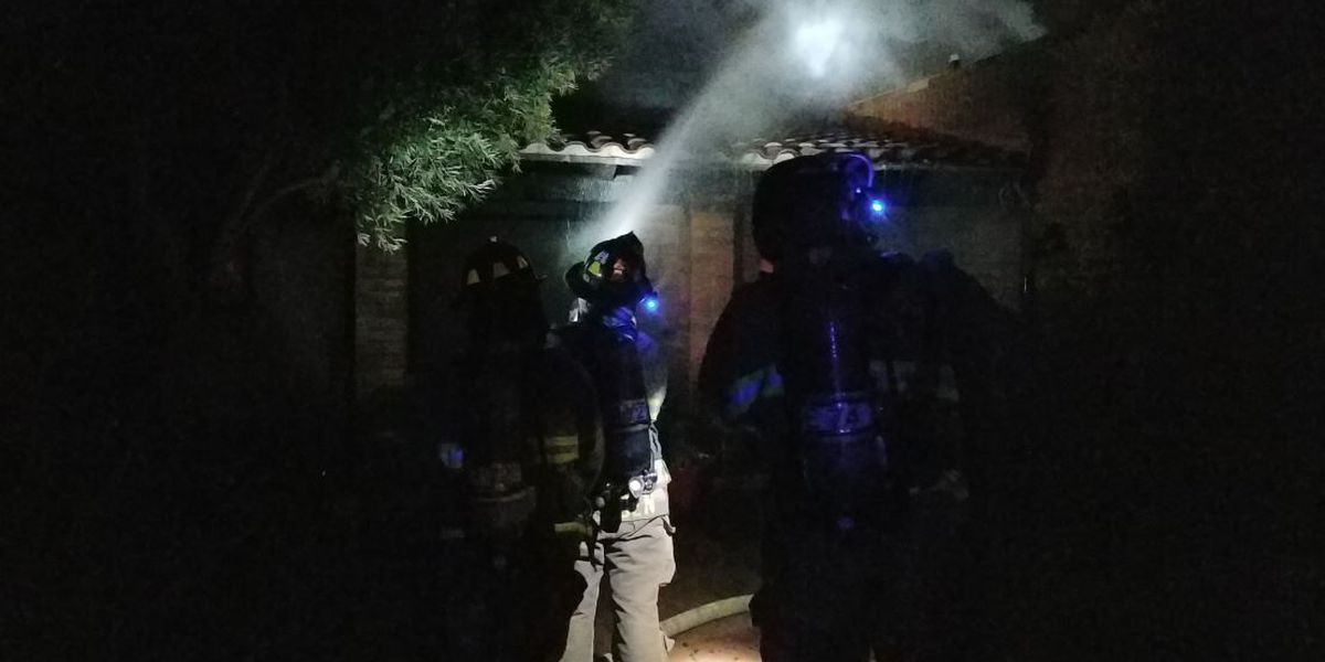 House near Tanque Verde Road destroyed in early morning hours