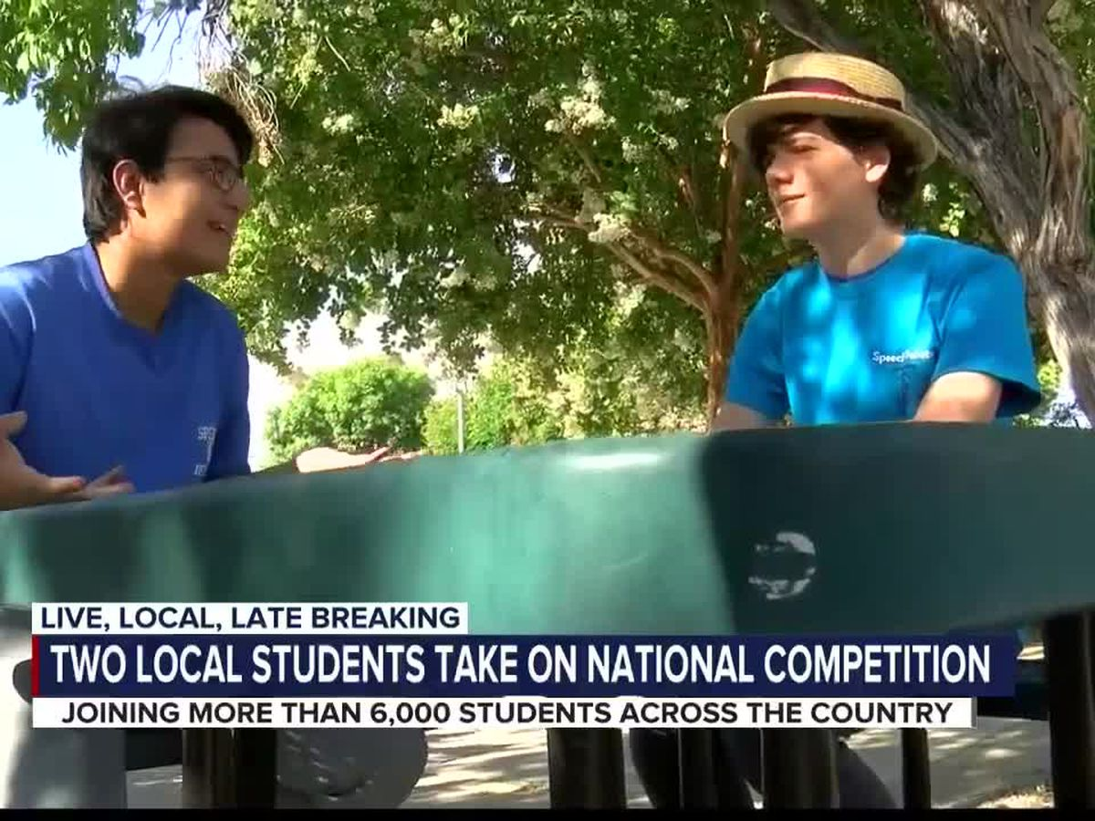 Two Tucson students compete on national stage