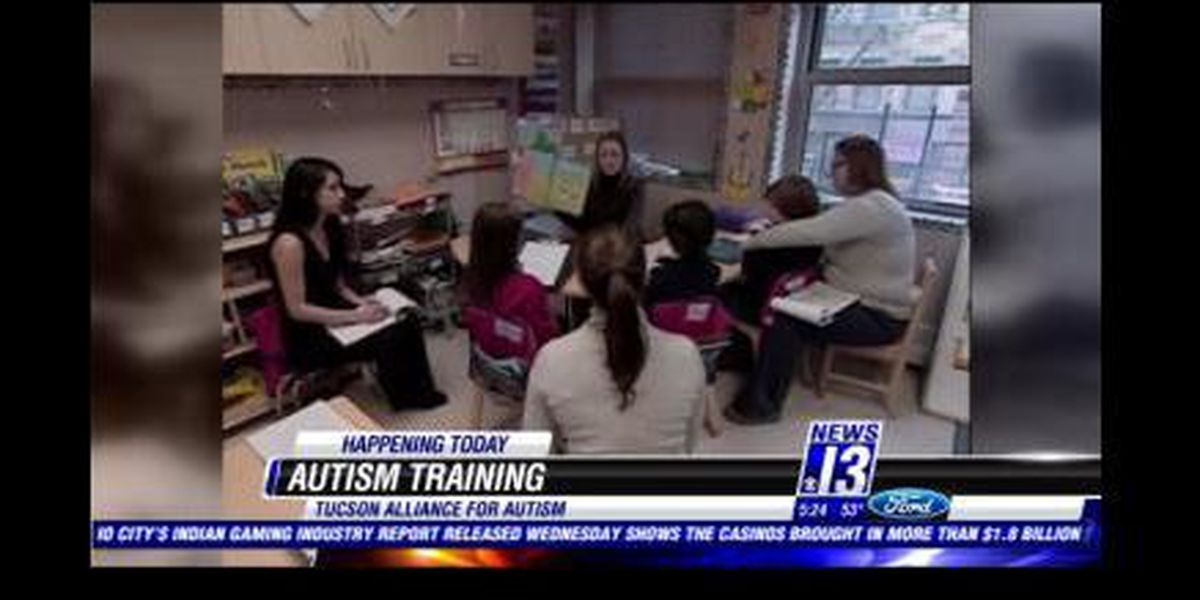 Specialized training for 1st responders, young adults with autism