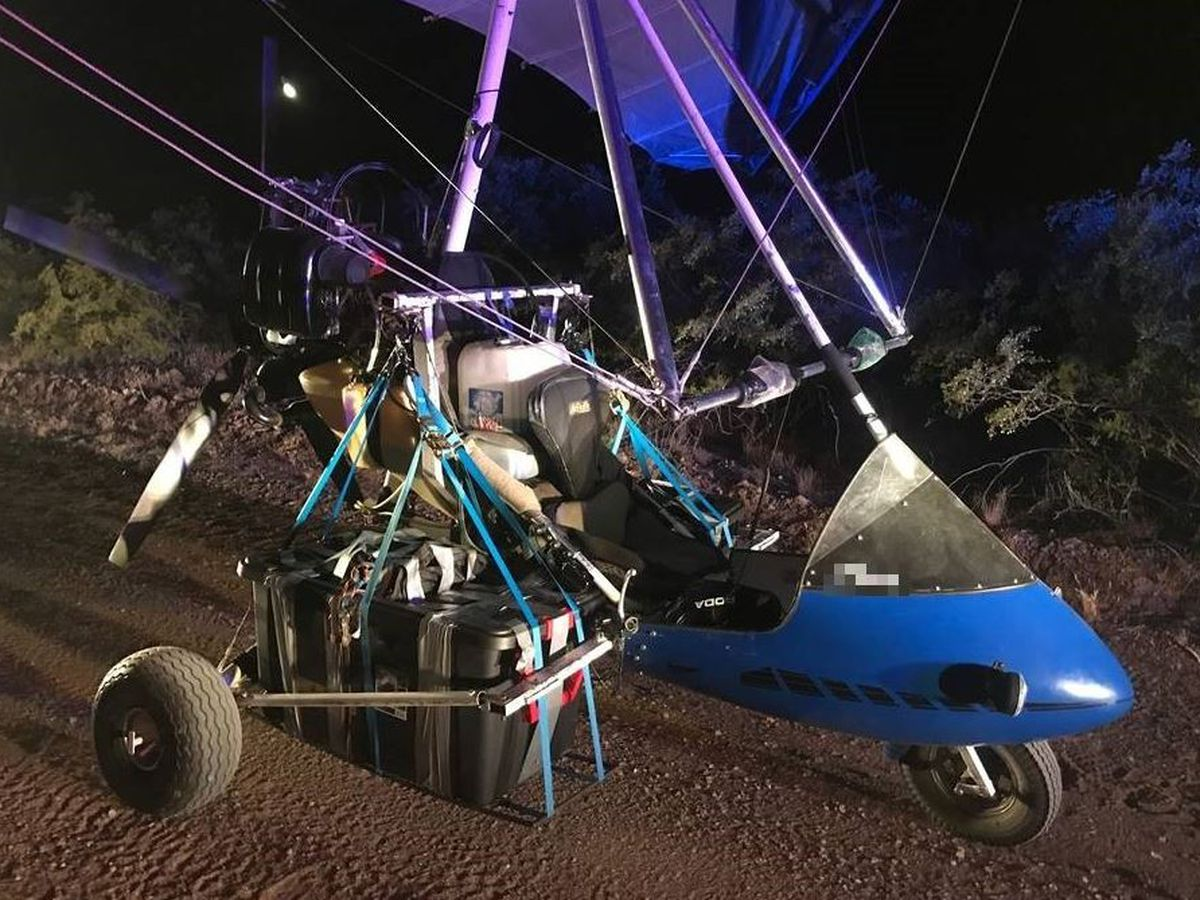Drug smuggling attempt via ultralight aircraft stopped by BP agents