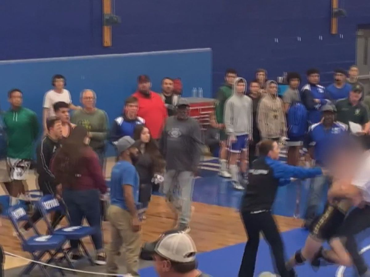 UPDATE: Safford PD looking into brawl after high school wrestler appears to attack coach