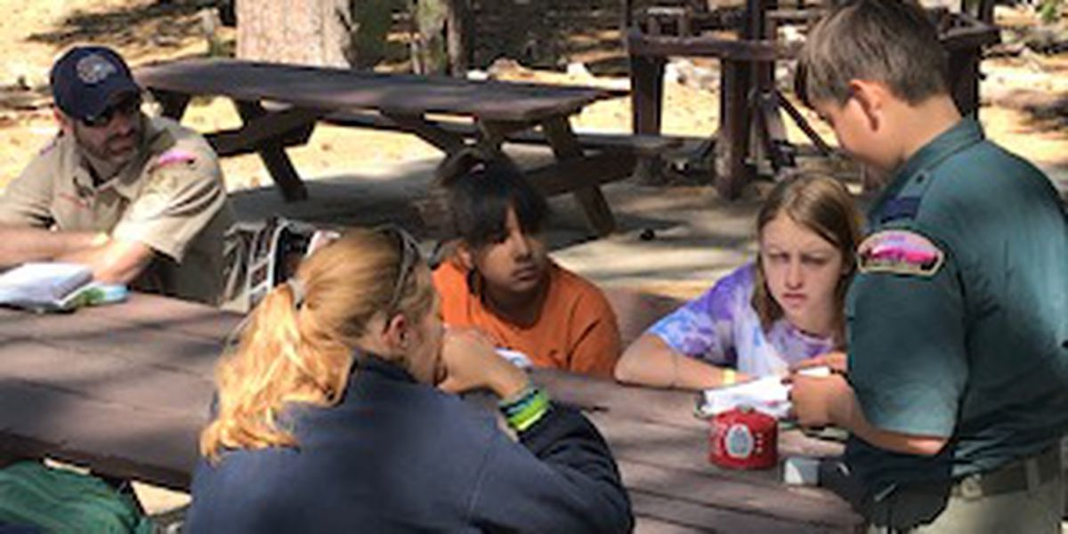 Girls attend Scouts summer camp on Mount Lemmon