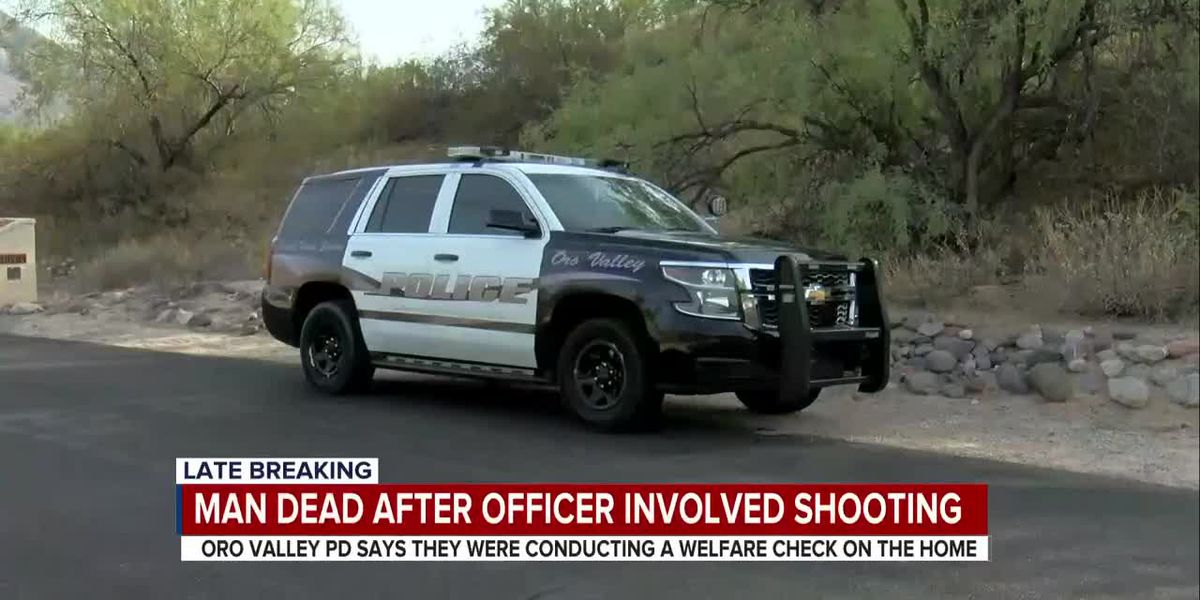 UPDATE: Authorities identify Oro Valley man killed in officer-involved shooting