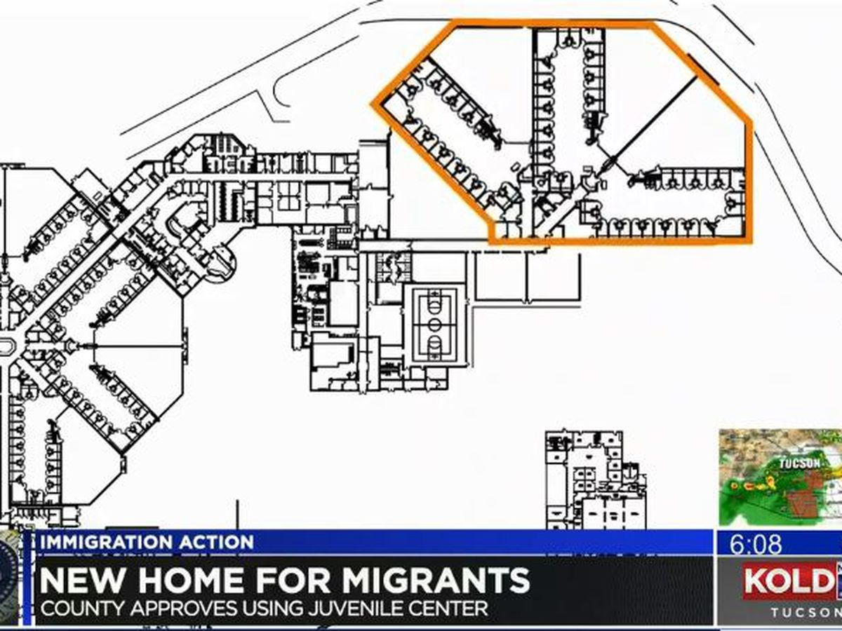 Pima County approves use of juvenile detention center to provide temporary housing for migrants