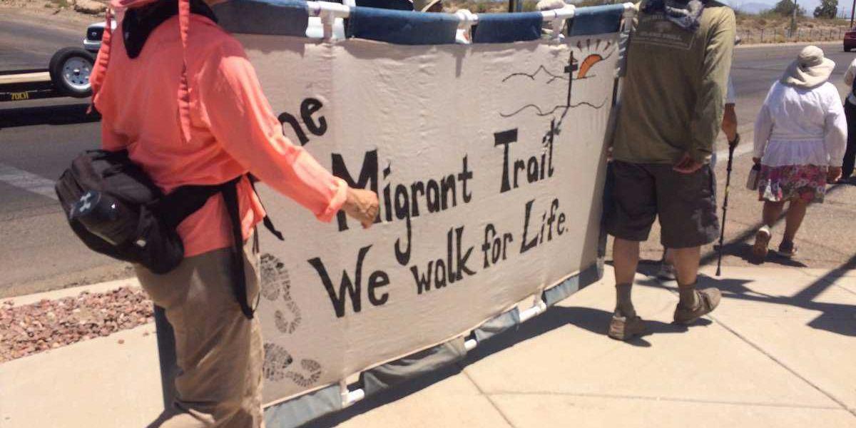 Migrant Trail Walk ends for participants on 75-mile trek