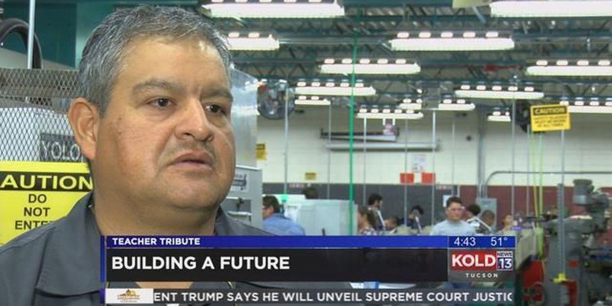 Desert View High School's Cesar Gutierrez opens new world to students