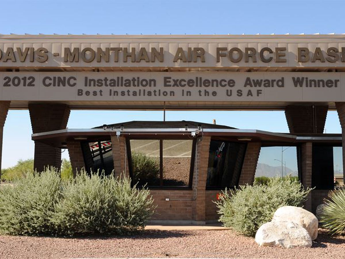 UPDATE: Davis-Monthan AFB reopens Craycroft Gate