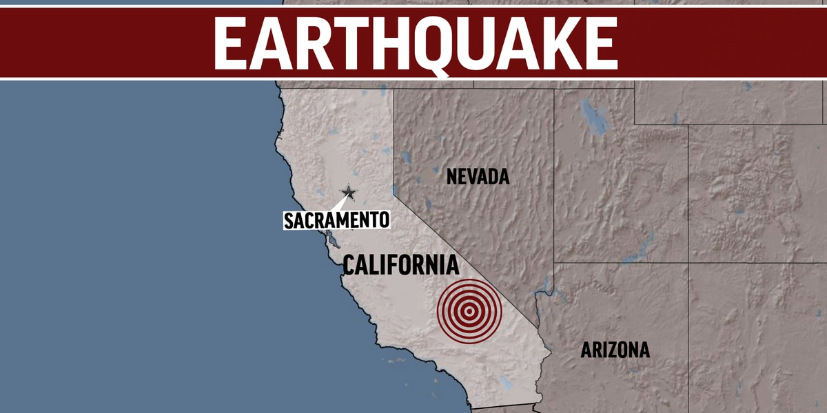 WATCH: This is what the second California earthquake looked like