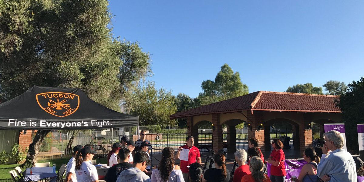 TFD installs over 100 new smoke alarms in Tucson as part of Fire Prevention Week